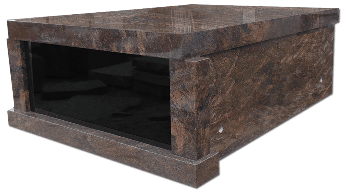 2 Crypt Rustic Brown Flat Top