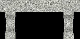 Garden Bench Dark Gray (Small)