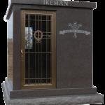 PS 2 Crypt Walk-in Mahagony